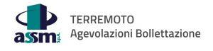 ASSM Servizio Idrico - TERREMOTO Agevolazioni Bollettazione