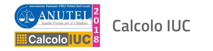 Calcolo IUC Anutel 2018